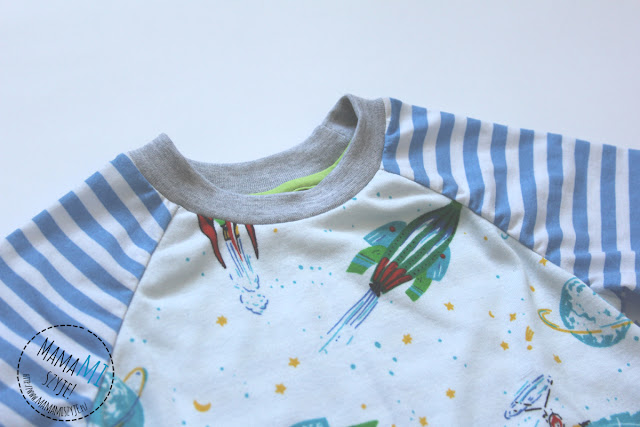 piżama w paski