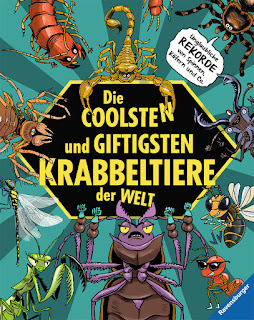 Cover von Michael Laumann, Christian Schmitt - Die coolsten und giftigsten Krabbeltiere der Welt