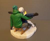 cake topper fatti a mano statuette artistiche realistiche personalizzate orme magiche