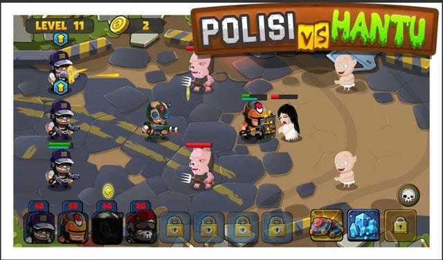 Polisi vs Hantu Game Android Offline