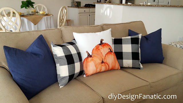 fall, fall pillows,  sunflowers, mantel, farmhouse, cottage, farmhouse style, cottage style, family room, Craftberry Bush