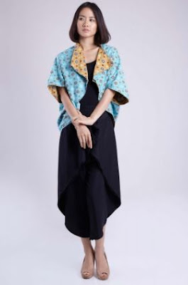 Contoh blazer batik model terbaru