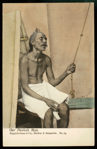 punkah fans of colonial india