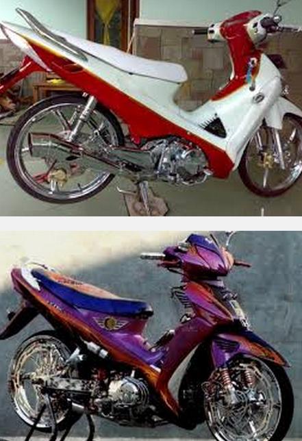 Modifikasi Motor Supra X 125 - Arena Modifikasi