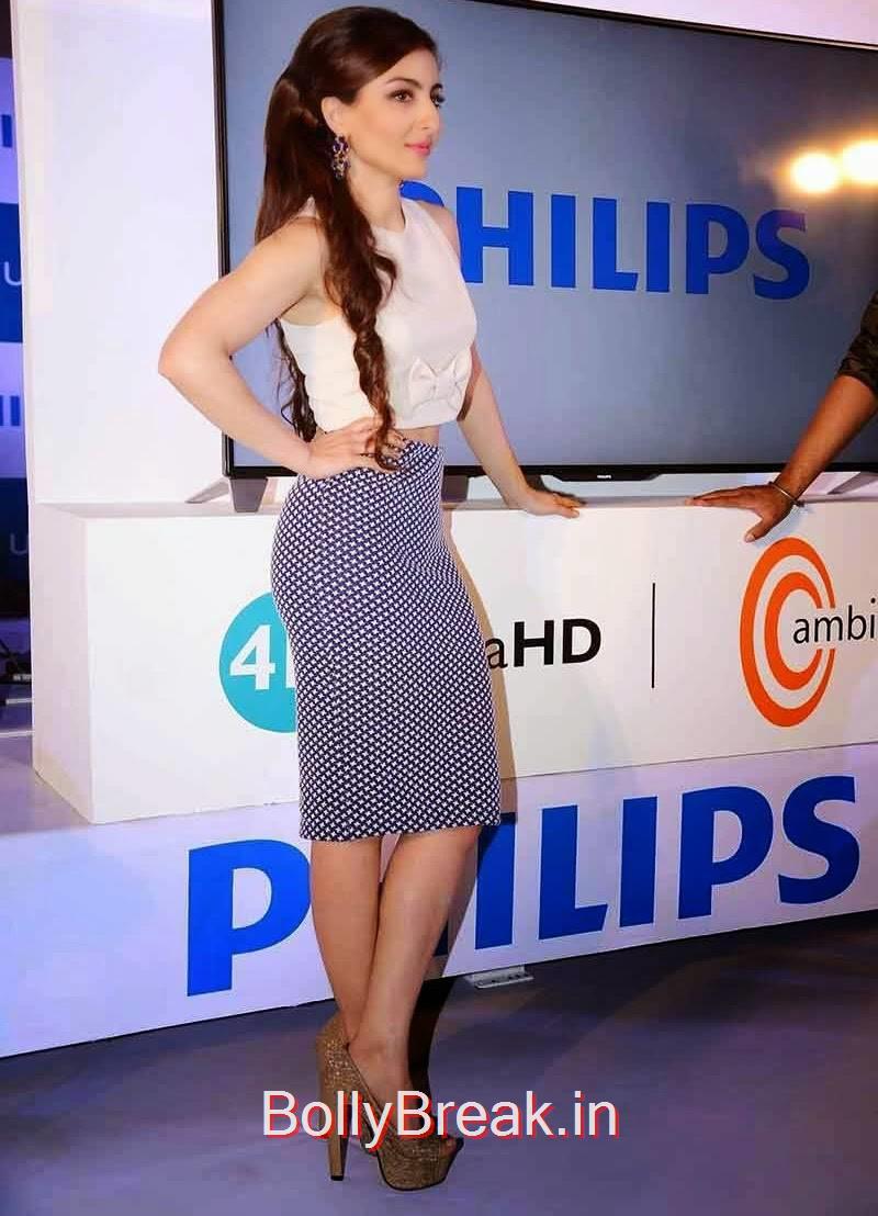 Soha Ali Khan Pictures, Soha Ali Khan Hot Pics from Philips 4K Model TV Launch