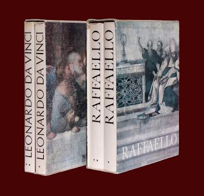 Raffaello e Leonardo - 4 volumi illustrati - libri - arte - annunci