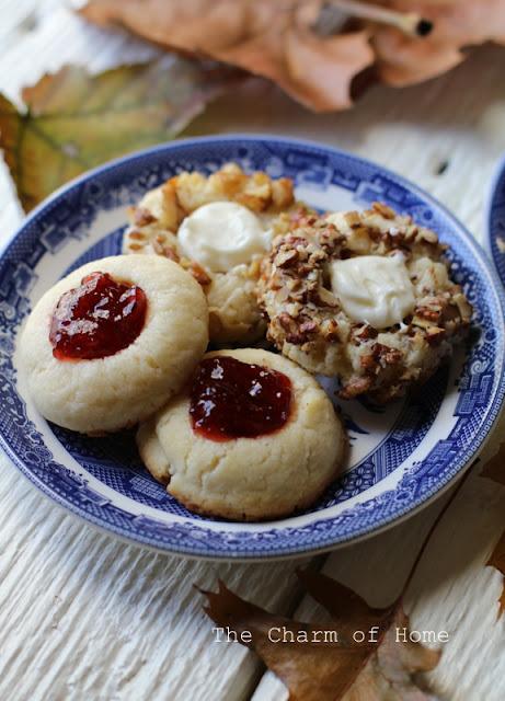 Cream Cheese Thumbprint cookies: The Charm of Home