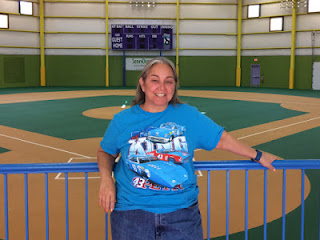 NASCAR Race Mom inside the Victory Junction Sports Complex