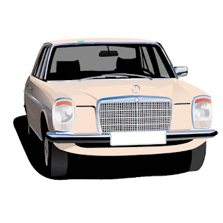Mercedes W115 gifts