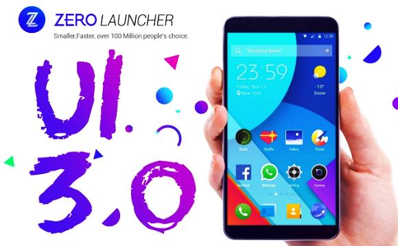 Aplikasi Launcher Android Terbaik Saat Ini, salah satunya adalah Zero Launcher