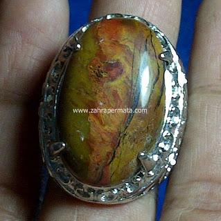 Cincin Batu Panca Warna Garut - ZP 489