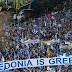 Griegos protestan para que el país vecino no se llame Macedonia