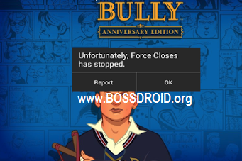 Cara Mudah Mengatasi Game Bully Anniversary Edition FC/Force Close