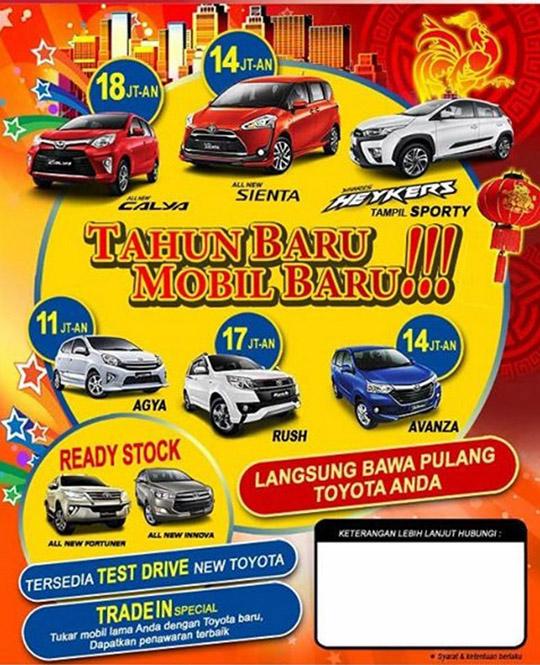 Promo Toyota Jatiasih Bekasi 2017