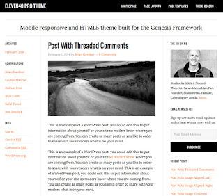 eleven40 Pro Wordpress Theme - Genesis Framework - StudioPress Free Download