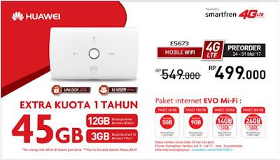 Mifi Huawei E5673
