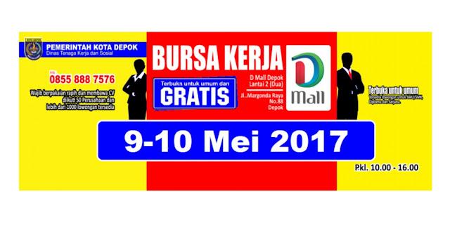 Jadwal Bursa Kerja Gratis Mei 2017 Terbuka Untuk Umum