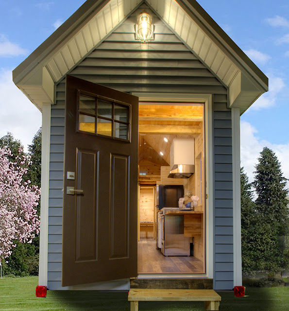 My Father's Design tiny house