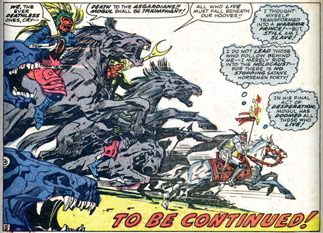 Thor 141 Demon Riders Satans Horsemen
