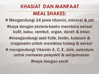 Kebaikan dan manfaat Melashakes shaklee