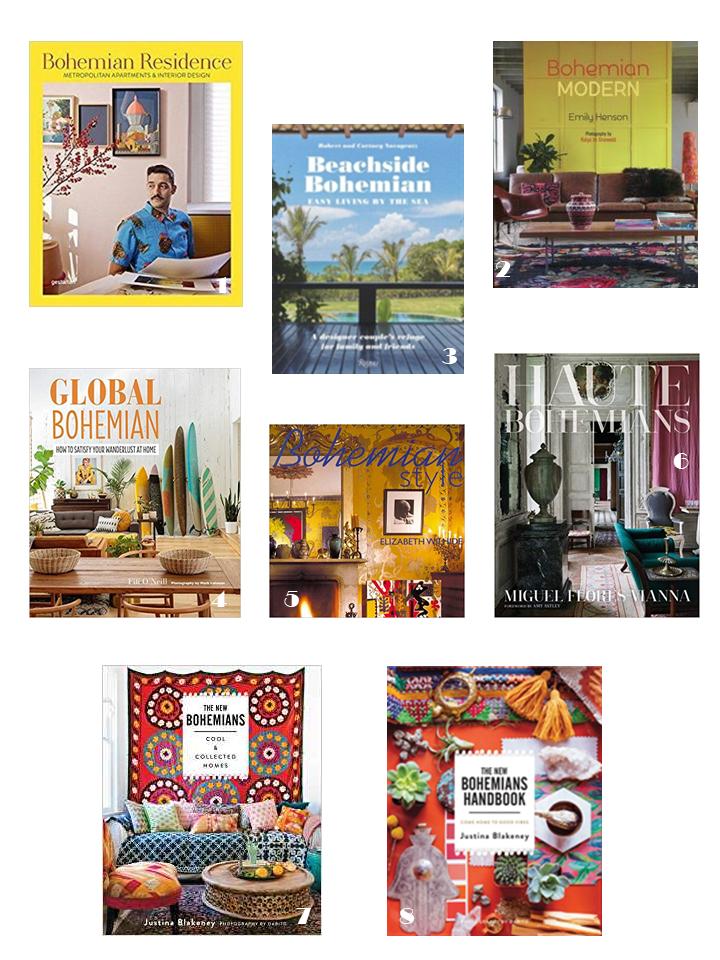 bohemian interiors style books