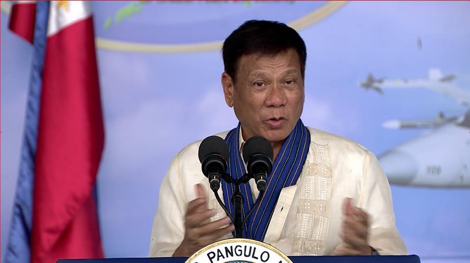 President Rodrigo Roa Duterte.