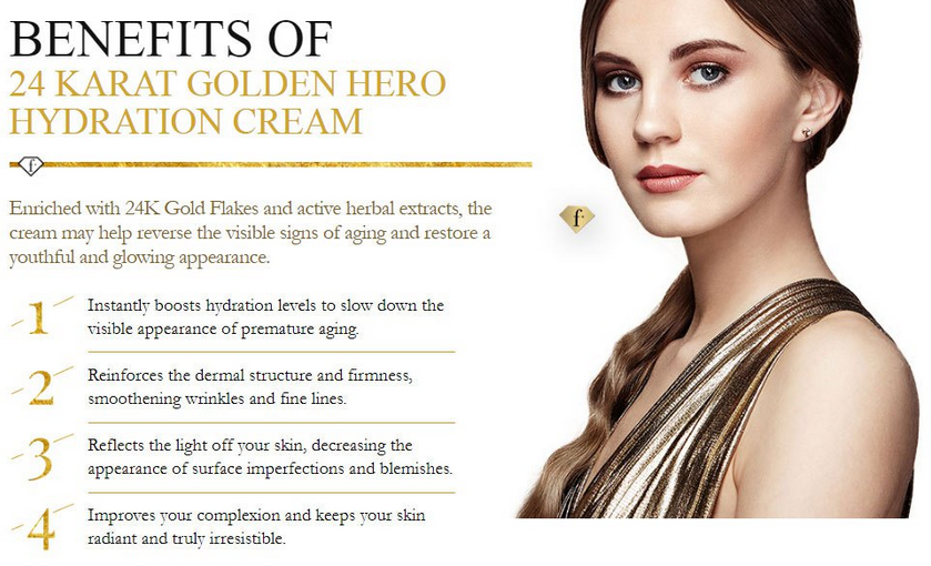 FashionTV 24 Karat Golden Hydration Cream
