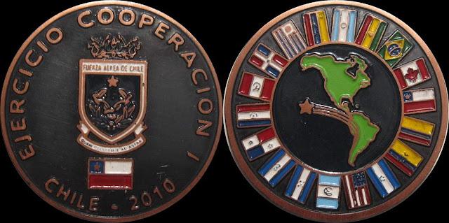 Medalla EJERCICIO COOPERACION I CHILE - 2010