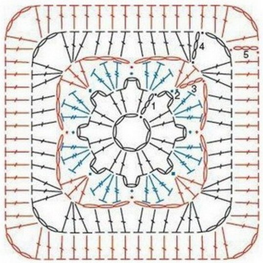 Crochet Granny Square Diagram Visio 2013 Erd Ergahandmade: 14 Diagrams