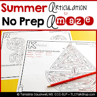 https://www.teacherspayteachers.com/Product/Articulation-to-A-Maze-Summer-Edition-2488295
