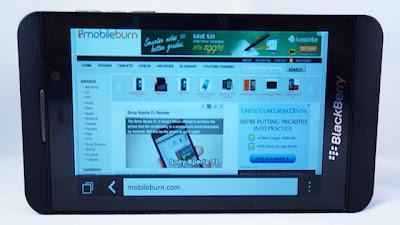 Browser Blackberry 10 Lebih Unggul Dari Android dan iOS