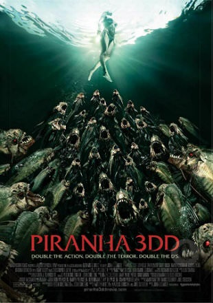 Piranha 3DD 2012 BRRip 720p Dual Audio In Hindi English