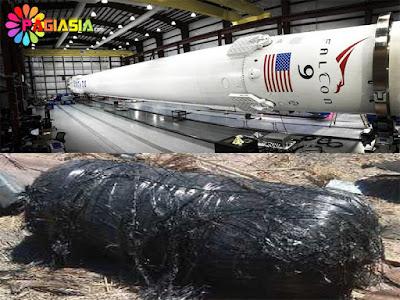 Pecahan Roket Falcon 9 Diduga Jatuh di Sumenep