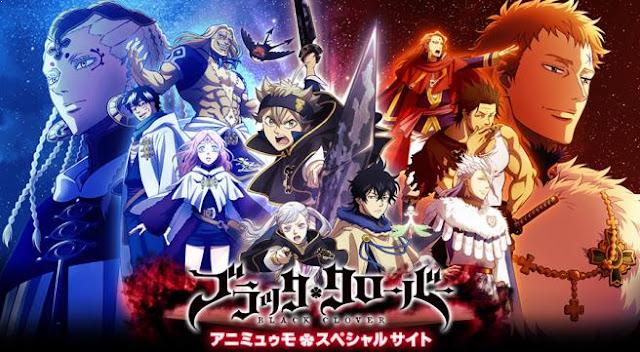 Daftar Film Anime Mirip Fairy Tail - Black Clover