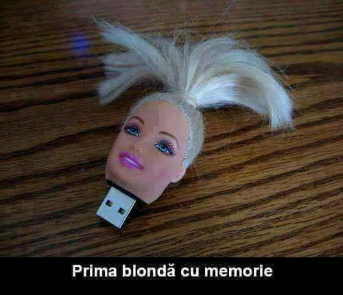 Unde a fost blonda