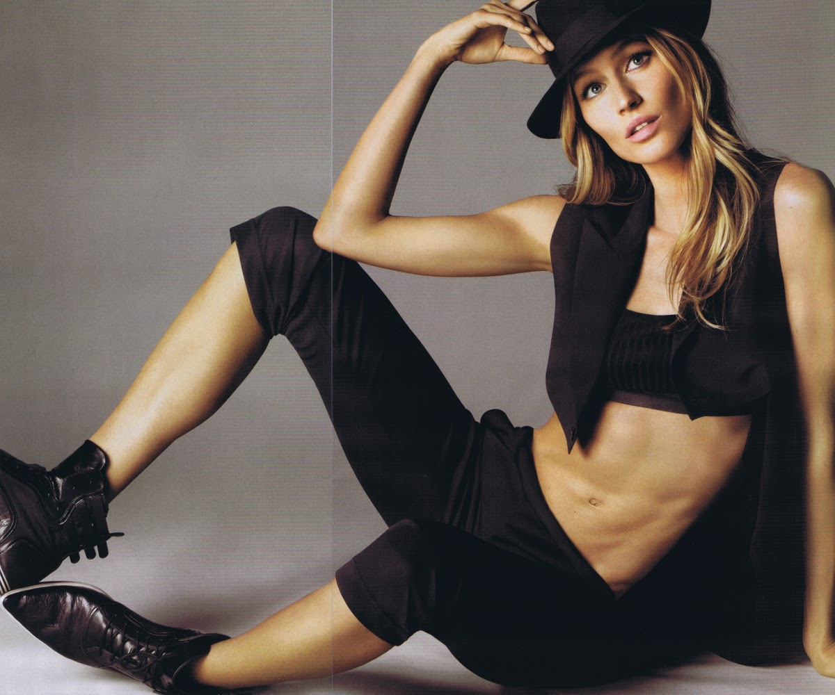 Daria Werbowy Victoria Secret: Natalia Vodianova, Gisele Bundchen & Daria Werbowy (Vogue