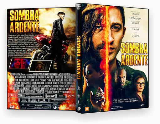 CAPA DVD – Sombra Ardente DVD-R