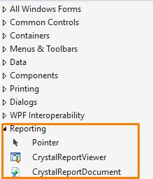Install Crystal Reports for Visual Studio 2015