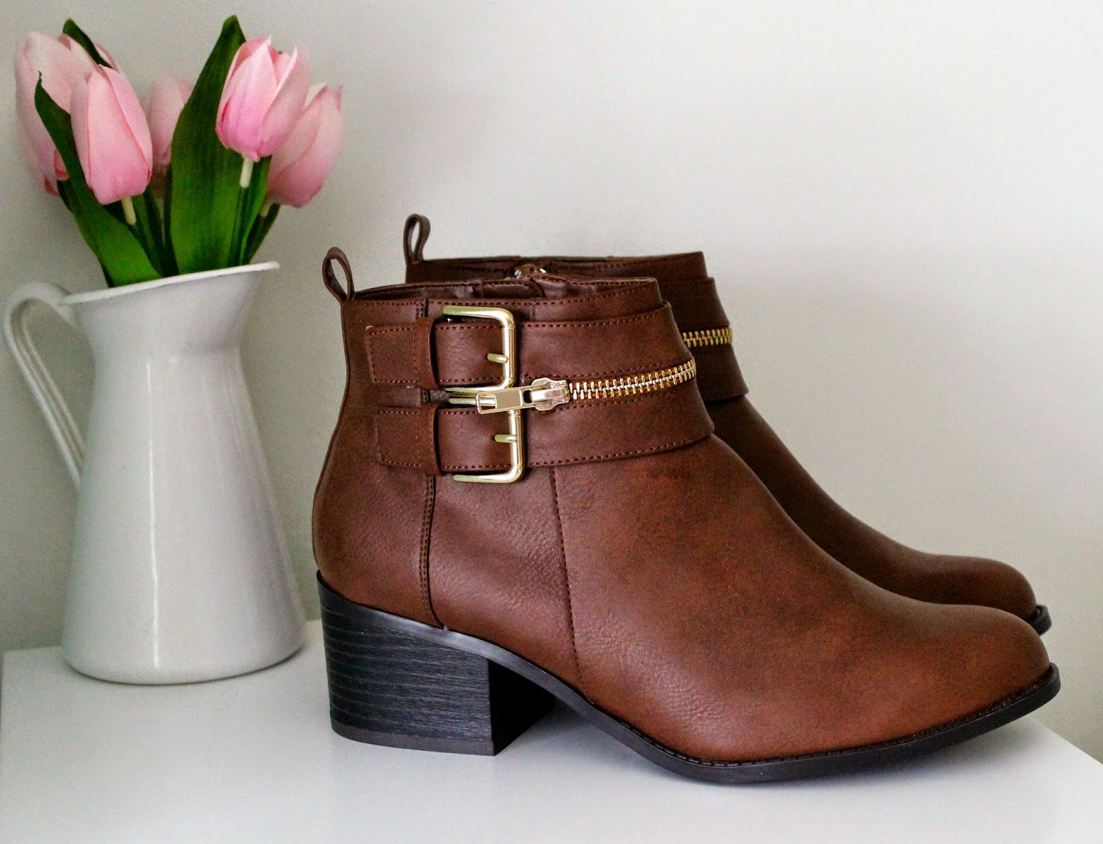 Brown New Look Boots