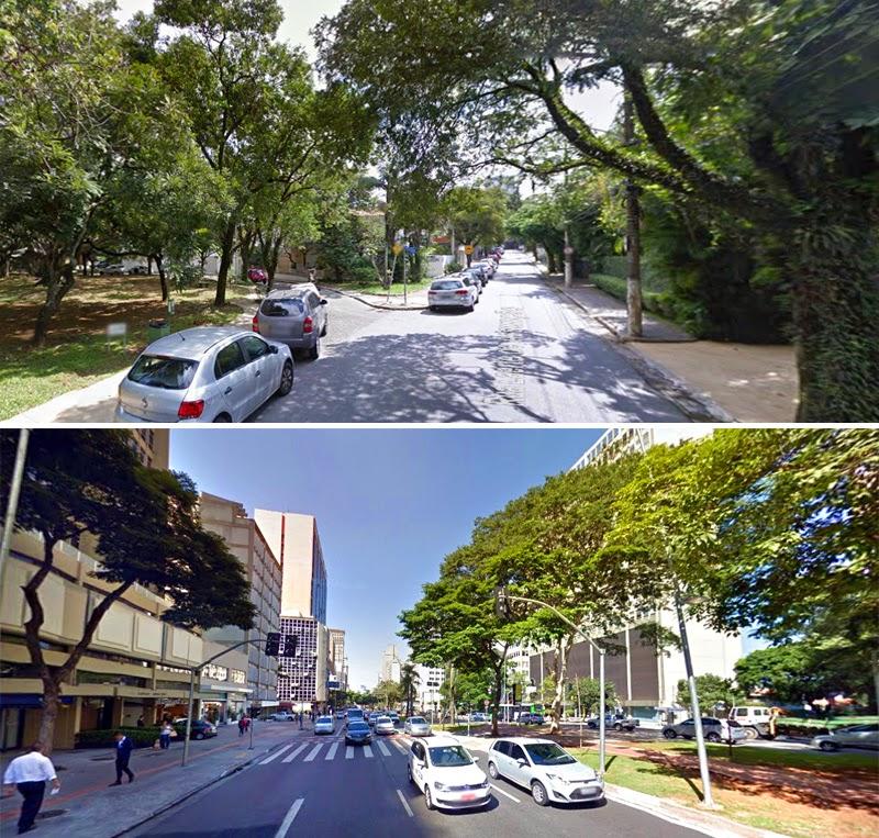 Jardim Paulistano | Ruas arborizadas e constraste com Av. Faria Lima