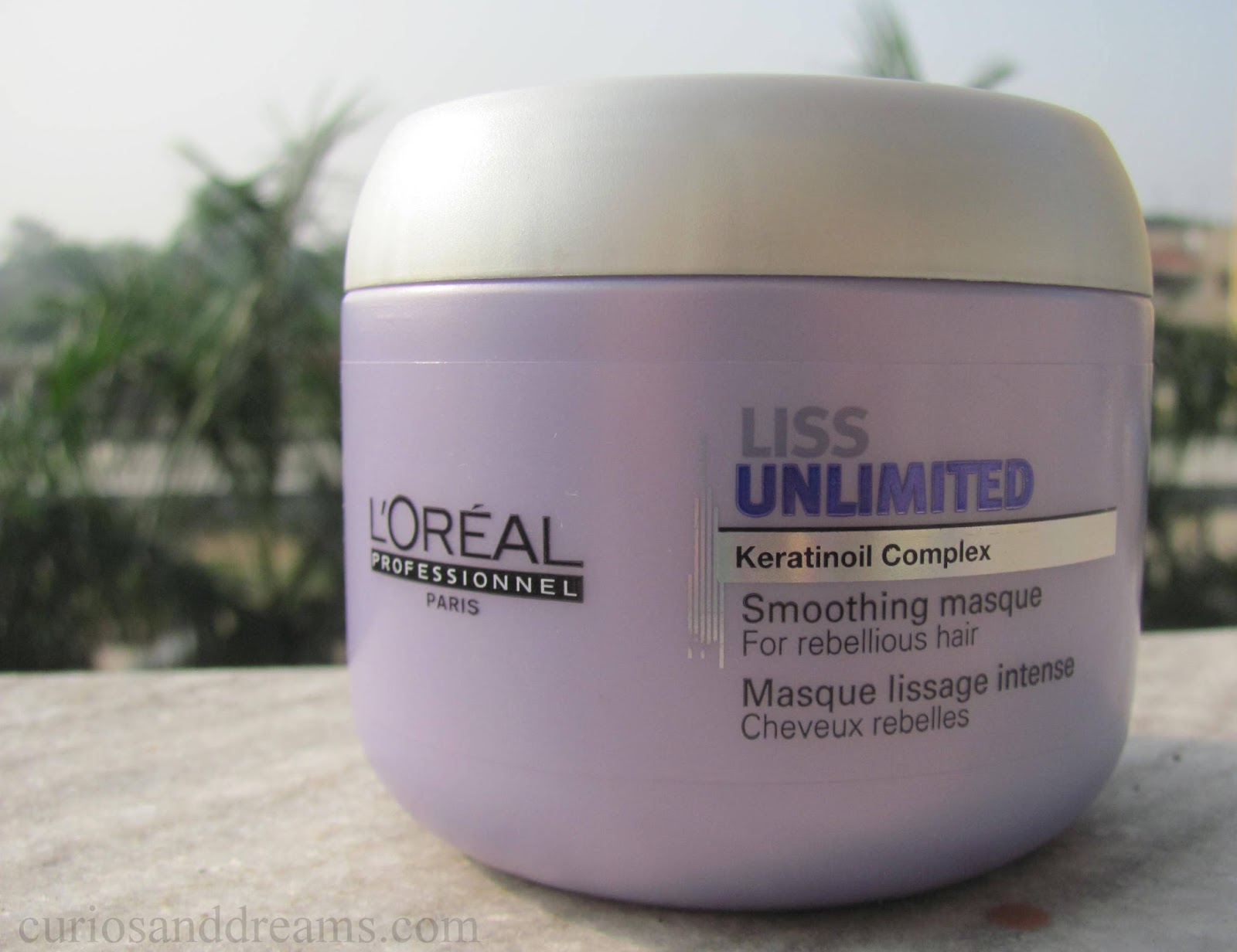 Curios And Dreams Makeup And Beauty Blog L Oreal Professionnel Liss Unlimited Smoothing Masque Review