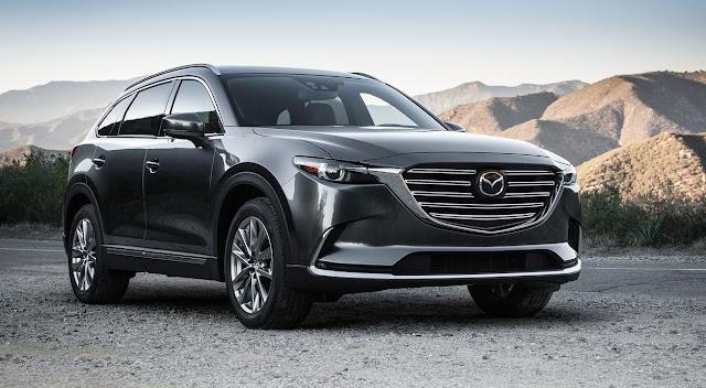 2016 Mazda CX-9 grey