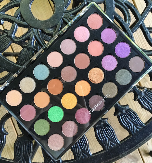 coastal scents shadow pots hot pots 2017 palette