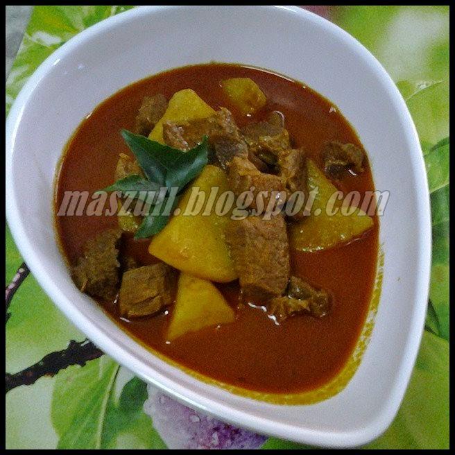 Resepi Kari Daging Tak Bersantan