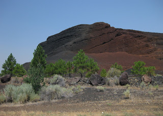 Red rock lava flow, Lassen Bench, CA