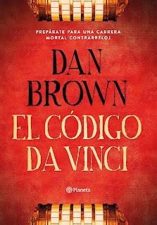 """""""El código da Vinci"""" de Dan Brown"""
