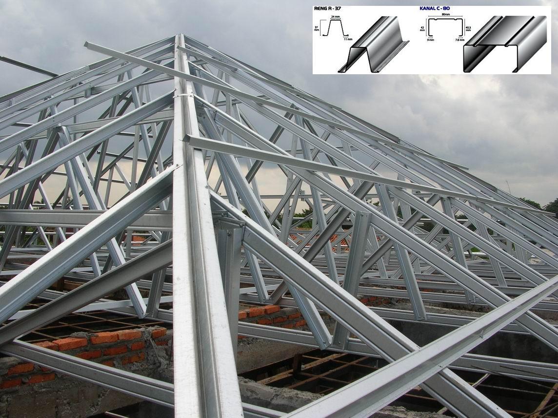 pasang baja ringan di semarang jasa kanopi dan rangka atap murah