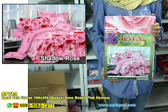Sprei Fata Queen 160×200 Shadow Rose Bunga Pink Dewasa