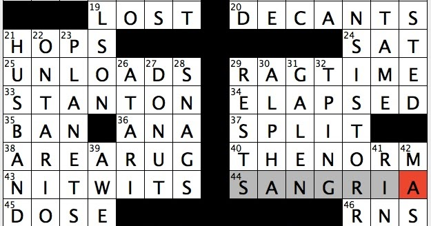 rex parker does the nyt crossword puzzle japanese flower