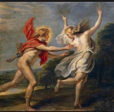 Ο παράφορος έρωτας του Απόλλωνα για τη Δάφνη